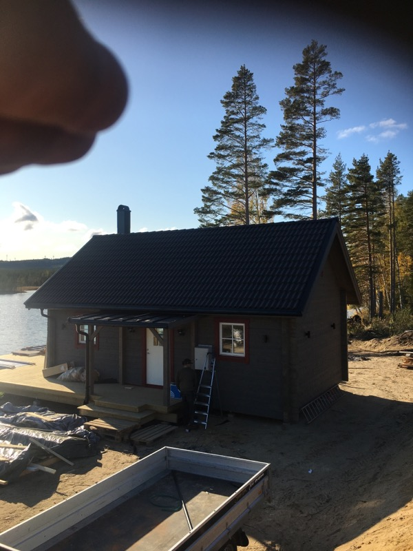 Skickar Erik nybygge Järvsö